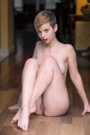 Naked short hair