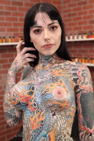Girl naked tattooed Girls Tattoo